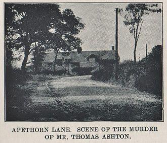 Assassination of Thomas Ashton - Location of the murder