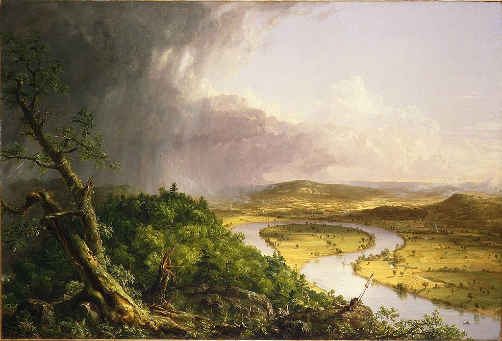File:Thomas Cole - View from Mount Holyoke, Northampton ...