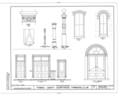 Thomas County Courthouse, Broad Street, Thomasville, Thomas County, GA HABS GA,138-THOVI,1- (sheet 8 of 8).png