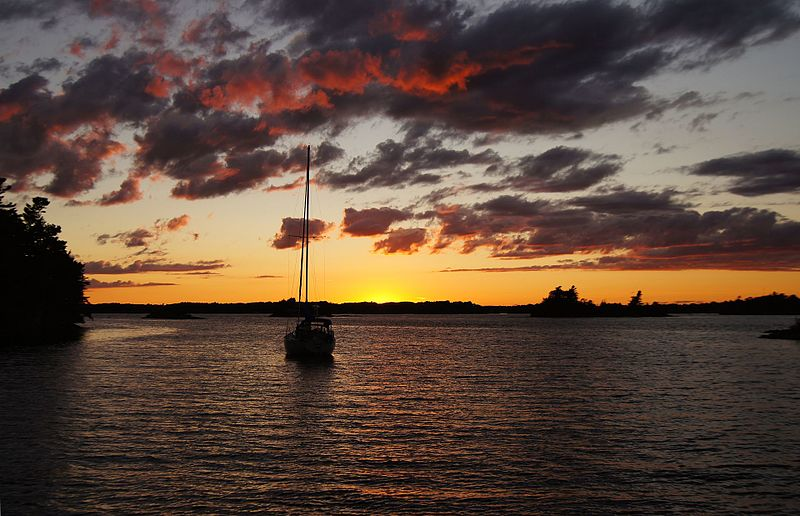 Thousand Islands National Park in Ontario