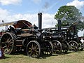 Three traction engines raising steam, Astwood Bank - geograph.org.uk - 1355931.jpg