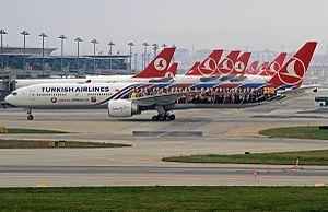 Aviation in Turkey - Turkish Airlines jets