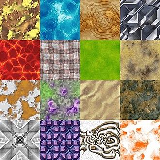 Procedural texture - procedurally generated tiling textures