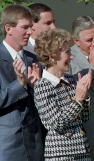 Tim Belcher with Nancy Reagan (cropped).png