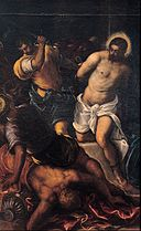 Tintoretto - Crowning with thorns - Google Art Project.jpg