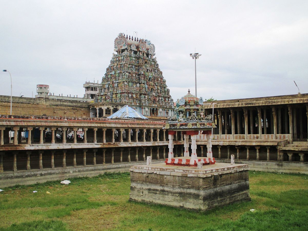 Jambukeswarar Temple, Thiruvanaikaval - Wikipedia