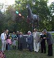 Tisztelgés Imperiál szobránál 2009 szeptember 6.JPG
