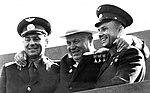 Titov, Khruschev, Gagarin 1961.jpg