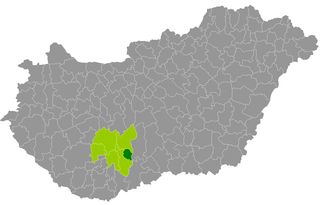 Tolna District Districts of Hungary in Tolna