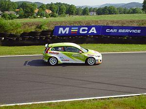 Scandinavian Touring Car Championship - Rustad Polestar Racing 2010.