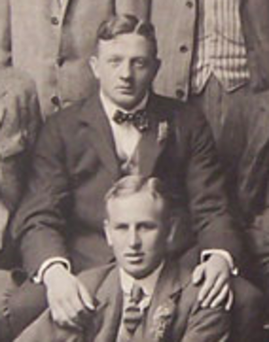 Tommy Smyth (rugby union) - Tommy Smyth with the British Isles team in 1910