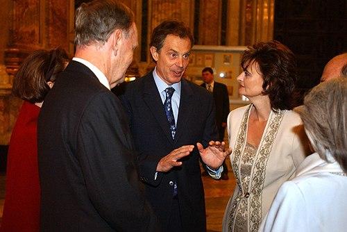 Tony Blair and Jean Chrétien