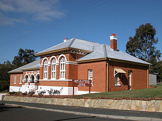 Toodyay, Western Australia - Old Court House in Fiennes Street now used as Shire of Toodyay offices (2004)