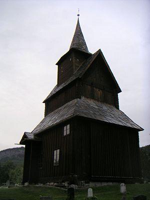 1190s in architecture - Image: Torpo Stavkyrkje, Hallingdal