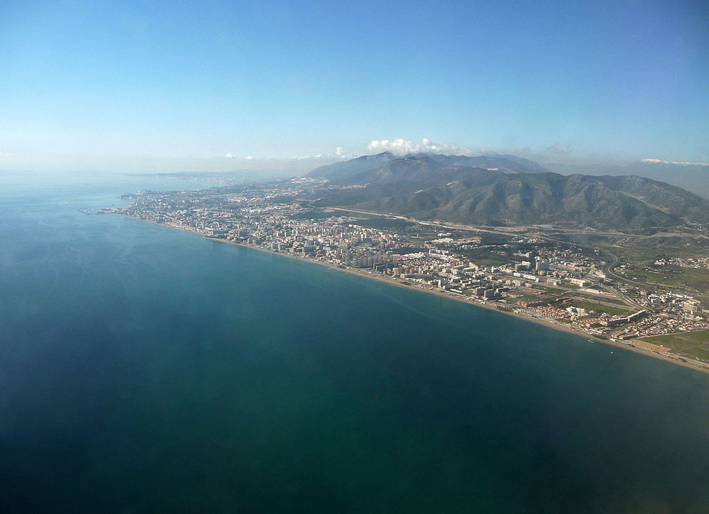 Torremolinos by air