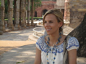 Tory Burch - Burch in India, 2009 during her trip to Singapore and other Asian countries.