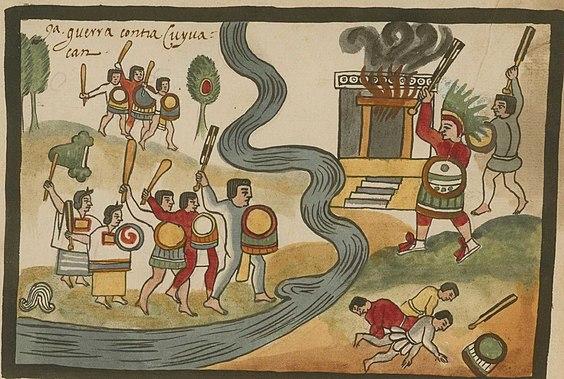 hegemonía mexica o azteca