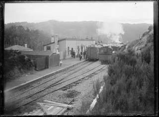 Kaitoke railway station railway station