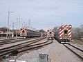 Trainsets waiting for service (5655998634).jpg