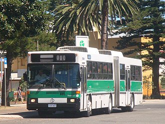 Mercedes-Benz O305 - Transperth, was the first bus company to operate the articulated Mercedes-Benz O305G