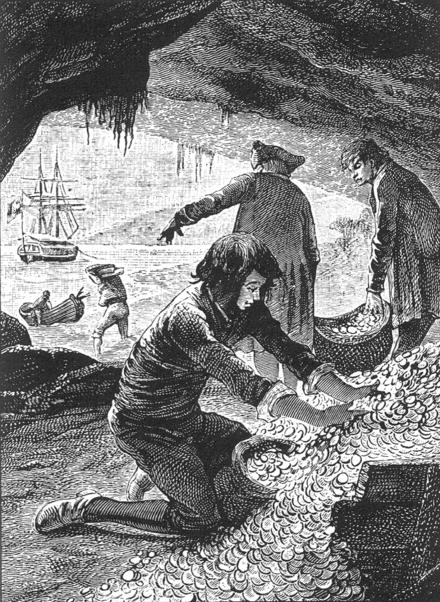 Carte Au Tresor Grabuge Sur Lile Des Sables Noirs.L Ile Au Tresor Trad Laurie Texte Entier Wikisource