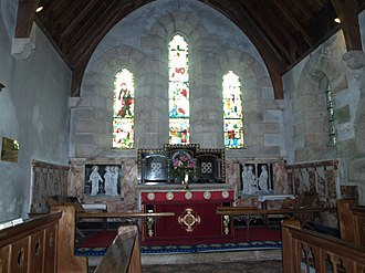 St Nicholas's Church, Tresco - Image: Tresco Church 1