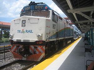 West Palm Beach station - Image: Tri rail EMD F40PH