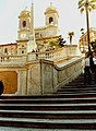 Trinita dei Monti Rome at top of Spanish Steps.jpg