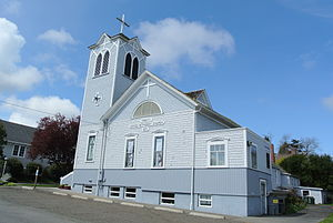 Port Townsend Historic District - Image: Trinity united methodist church (Port Townsend, WA)