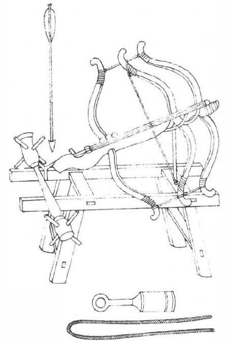 Triple bow crossbow wjzy