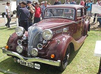 Triumph Dolomite (1934–40) - Dolomite Saloon 1938