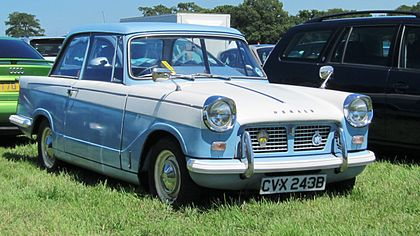 Triumph Herald 1200 first registered April 1964 1147cc.jpg