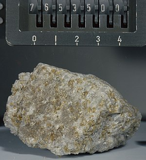 Troctolite - Troctolite 76535 from the Apollo 17 landing site