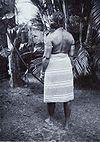 Tropenmuseum Royal Tropical Institute Objectnumber 60005768 Marronvrouw met scarificaties (kamemb.jpg