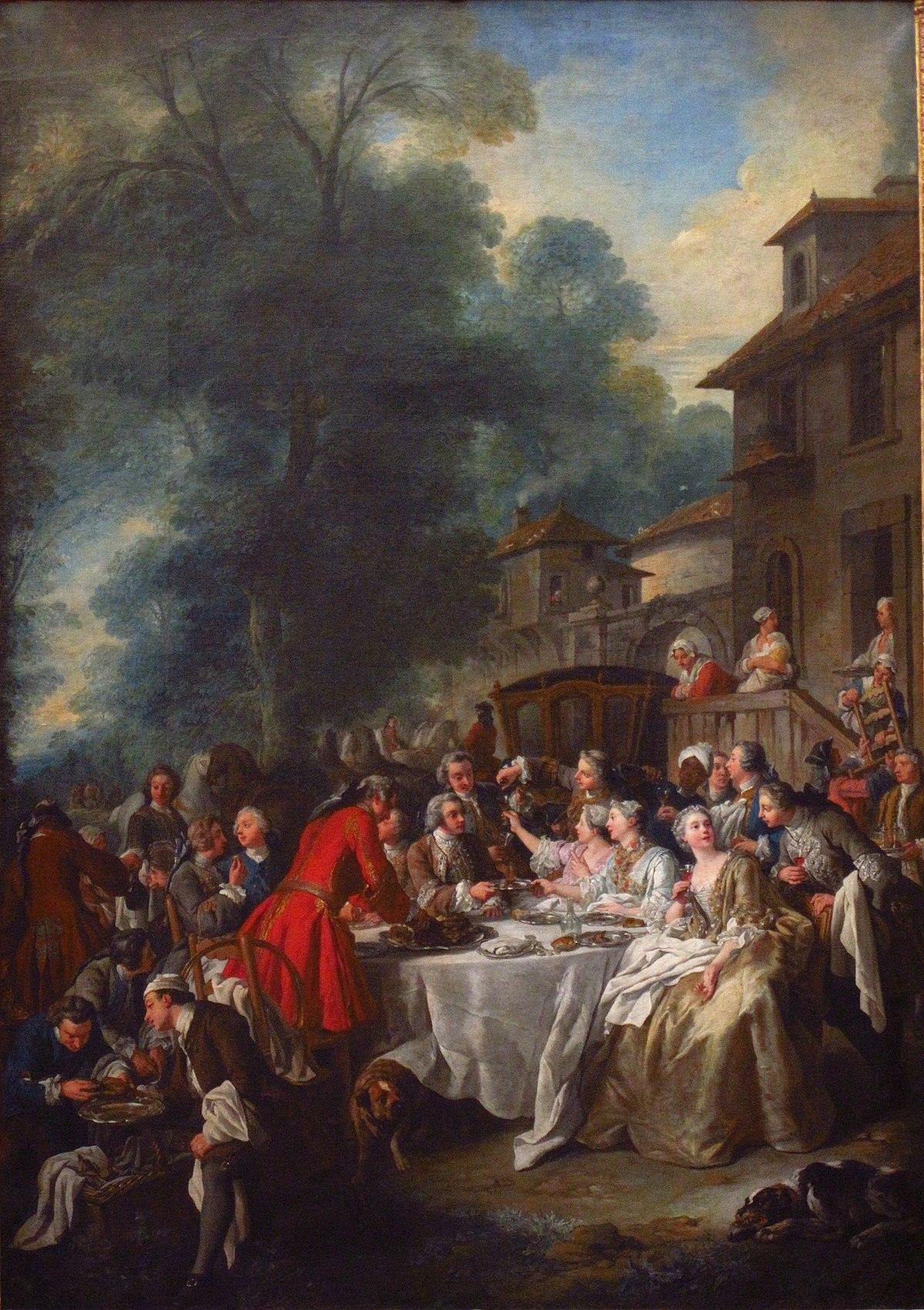 Troy - Un déjeuner de chasse (1737)
