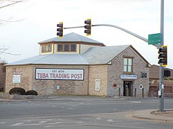 Tuba Trading Post built in 1905