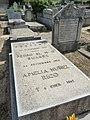 Tumba de Alice Pestana en el cementerio civil de Madrid.jpg
