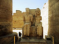 Two A Statues in Karnak Temple , Luxor.JPG