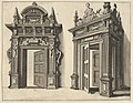 Two Wooden Portals from 'Verscheyden Schrynwerck (...)' -'Plusieurs Menuiseries (...)'- MET DP830821.jpg