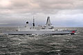Type 45 Destroyer HMS Dragon During Pre-Acceptance Sea Trials MOD 45152084.jpg
