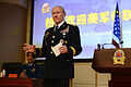 U.S. Army Gen. Martin E. Dempsey, the chairman of the Joint Chiefs of Staff, addresses students at China's National Defense University in Beijing April 24, 2013 130424-D-VO565-056.jpg