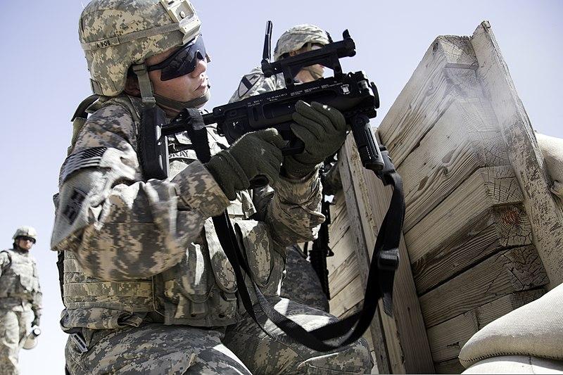 File:U.S. Army Spc. Nina Bray, an intelligence analyst ...