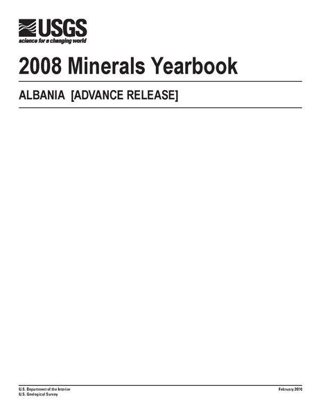 File:U.S. GEOLOGICAL SURVEY 2008 Minerals Yearbook ALBANIA Myb3-2008-al.pdf