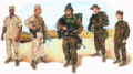 U.S. Marines Combat Utility Uniforms 2003, Full-Color Plate (2003), by John M. Carrillo.png