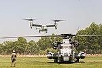 U.S. Marines and sailors display aircrafts at Eisenhower Park 160528-M-OC926-070.jpg