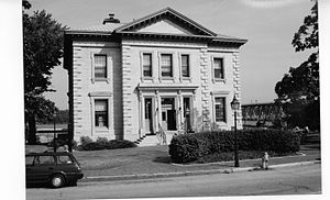 United States Customhouse and Post Office (Bath, Maine) - U. S. Custom House, Bath, Maine 1991