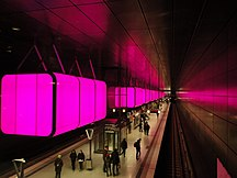 Hamburg-Kommunikationer-Fil:U4 HafenCity Universität (pink)
