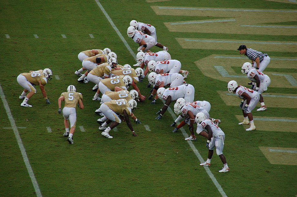 UCF at the Texas goal line