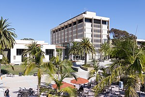 University of California, Santa Barbara Library - The UCSB Library holds the majority of the UC Santa Barbara Library's collection.
