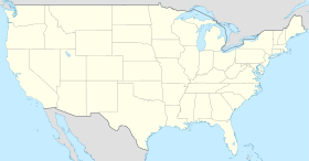 Map of United States showing Charlotte, تمپا, Nashville, Las Vegas, Los Angeles and Baltimore